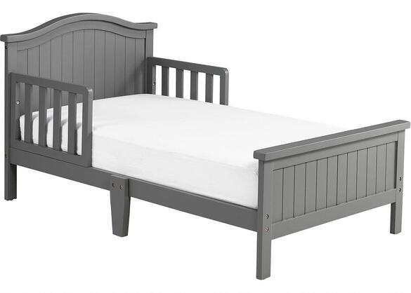 Delmar Misty Gray Toddler Bed