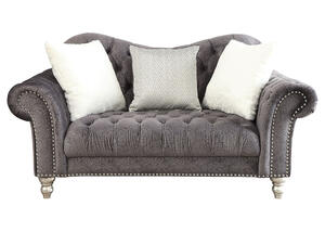 Arabella Gray Loveseat