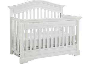 Venezia Snow White Convertible Crib by Dolce Babi