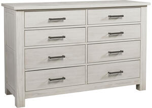 Lucca Sea Shell White Dresser by Dolce Babi