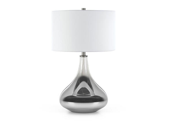 Mirabella Table Lamp Silver