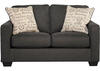 Loveseat Charcoal Arthur