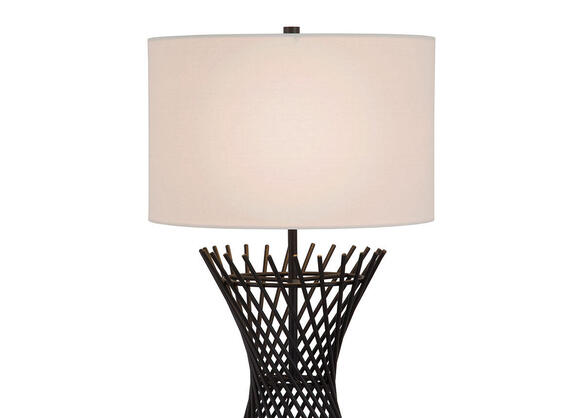 Lina Table Lamp Black