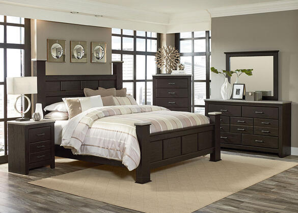 Henley Rustic Pine 8 Pc. Queen Bedroom