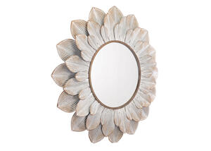 Flora Mirror Brown