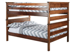 CATALINA F/F BUNK BED CH CHESTNUT