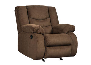 Talen Chocolate Rocker Recliner