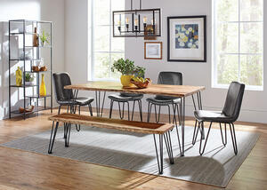 Sherman Gray 6 Pc. Dining Room
