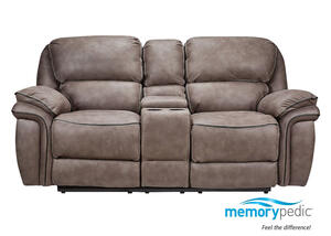Puma Power Reclining Console Loveseat