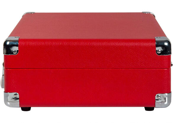 Crosley Cruiser Deluxe Red Turntable