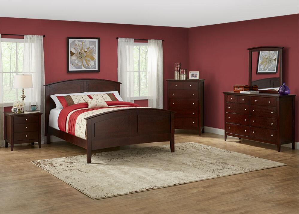 Fulton Cherry 7 Pc. Queen Bedroom