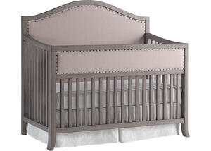 Wilshire Arched Full Panel Upholstered Convertible Crib by ED Ellen DeGeneres