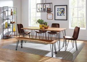 Sherman Brown 6 Pc. Dining Room