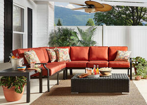 Brighton 4 Pc. Sectional w/Cushions