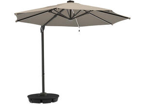 Large Brown Cantilever Umbrella