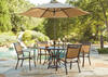 Argos 5 Pc. Dinette w/Umbrella Set