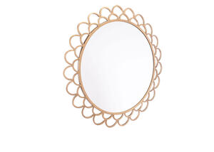 Rani Circular Mirror Medium Yellow