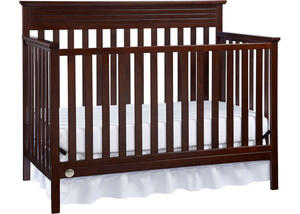 Newbury Espresso Convertible Crib by Fisher Price