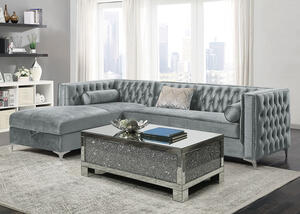 Bellaire 2 Pc. Silver Sectional