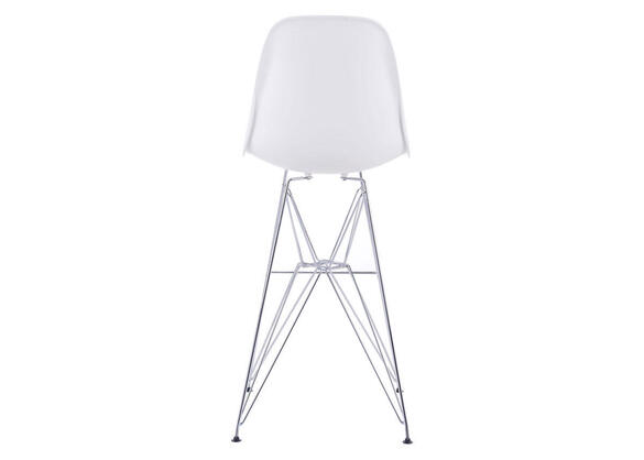 Zip Bar Chair White White