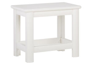Stool White Catalina