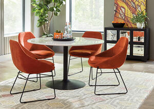 Dash Persimmon 5 Pc. Dinette by Scott Living