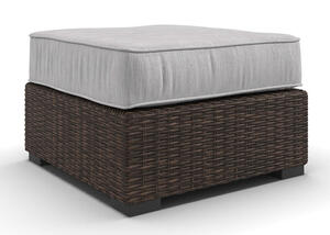New Haven Ottoman Brown