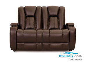 Matrix Brown Stationary Loveseat