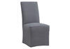 Richland Dining Chair Gray w/Slip Cover