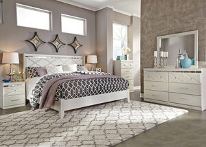 HANNAH 8PC KING BEDROOM