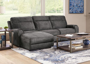 Mercury 3 Pc. Power Sectional (Reverse)