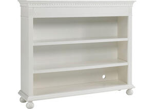 Naples Snow White Bookcase by Dolce Babi