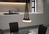 Scalar Ceiling Lamp Black