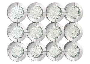 "30"" Circles Wall Mirror 79283"