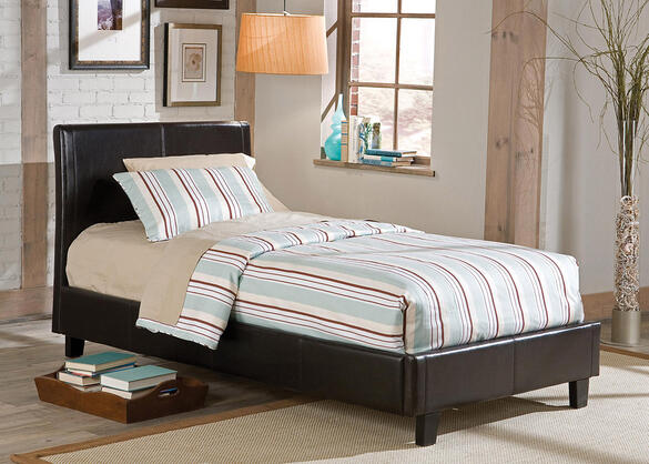 MONTROSE TWIN BED BLACK BLACK