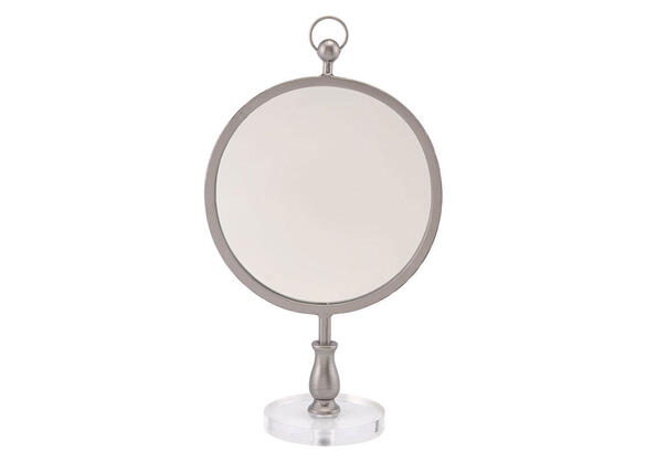 Table Mirror Silver