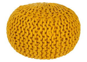 Fargo Pouf Yellow