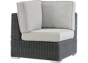 Langstone Charcoal Corner Chair