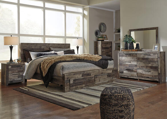 Ethan 8 Pc. King Bedroom - The RoomPlace