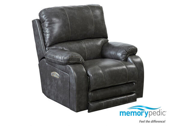 Galileo Pwr Recliner Steel