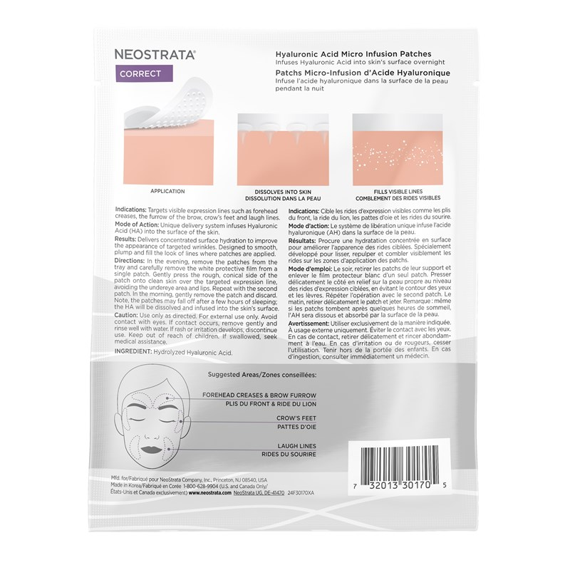 Hyaluronic Acid Micro Infusion Patches