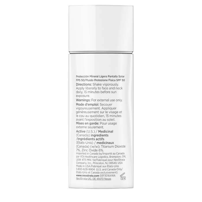 Sheer Physical Protection Sunscreen Broad Spectrum SPF 50