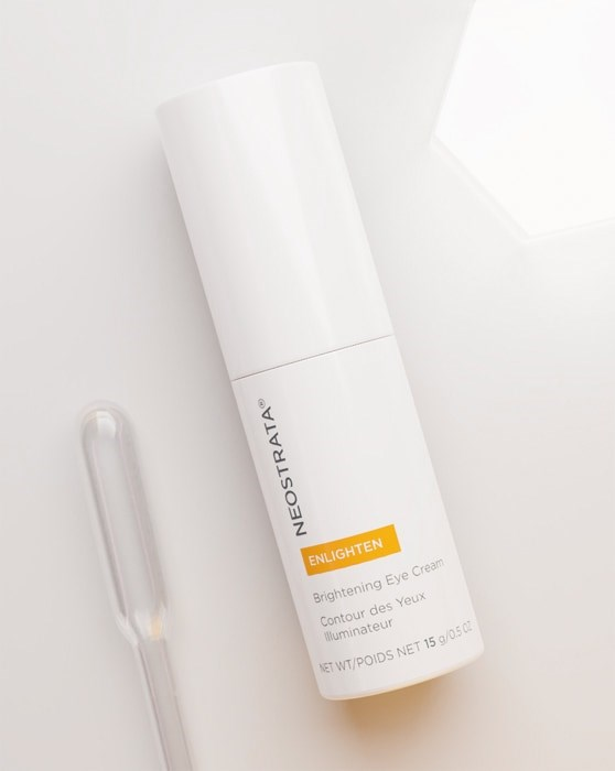 Dark circle corrector and brightening eye cream.