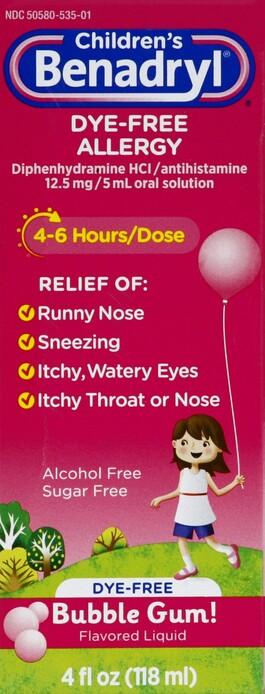 Benadryl - Harmon Face Values