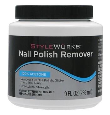 Stylewurks 100 Acetone Nail Polish Remover Dip Jar 9fl Oz Harmon Face Values