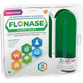 Flonase Twin Pack 120Ct