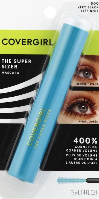 34af8c0acf9 CoverGirl LashBlast The Super Sizer Mascara in Very Black - Harmon ...