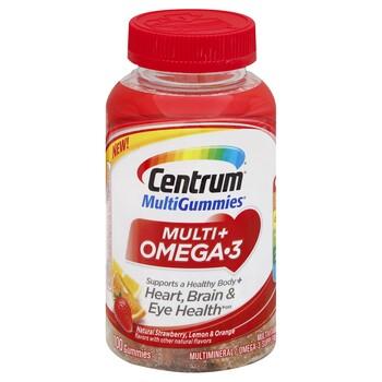 Centrum Multi + Omega-3 Gummies 100 Count