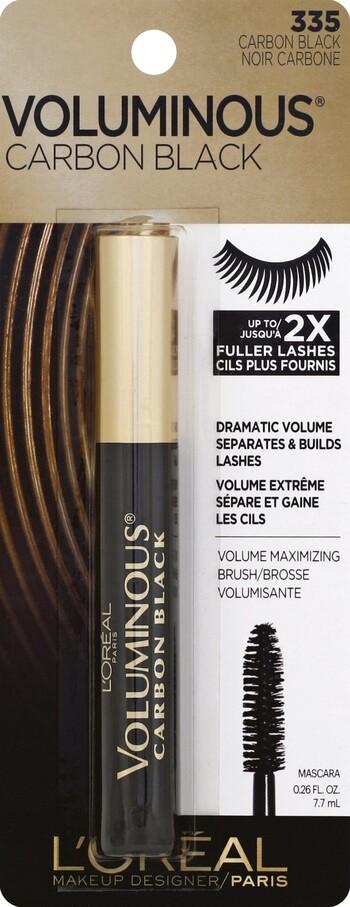 6139ba0e0f1 L'Oreal Voluminous Mascara Carbon Black - Harmon Face Values
