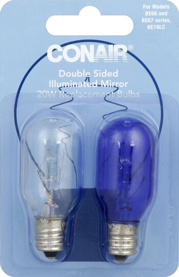 Conair Double Sided Illuminated Mirror 20W Replacement ...
